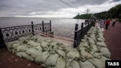 Так виглядала набережна Амура в Хабаровську 19 серпня 2013 року
