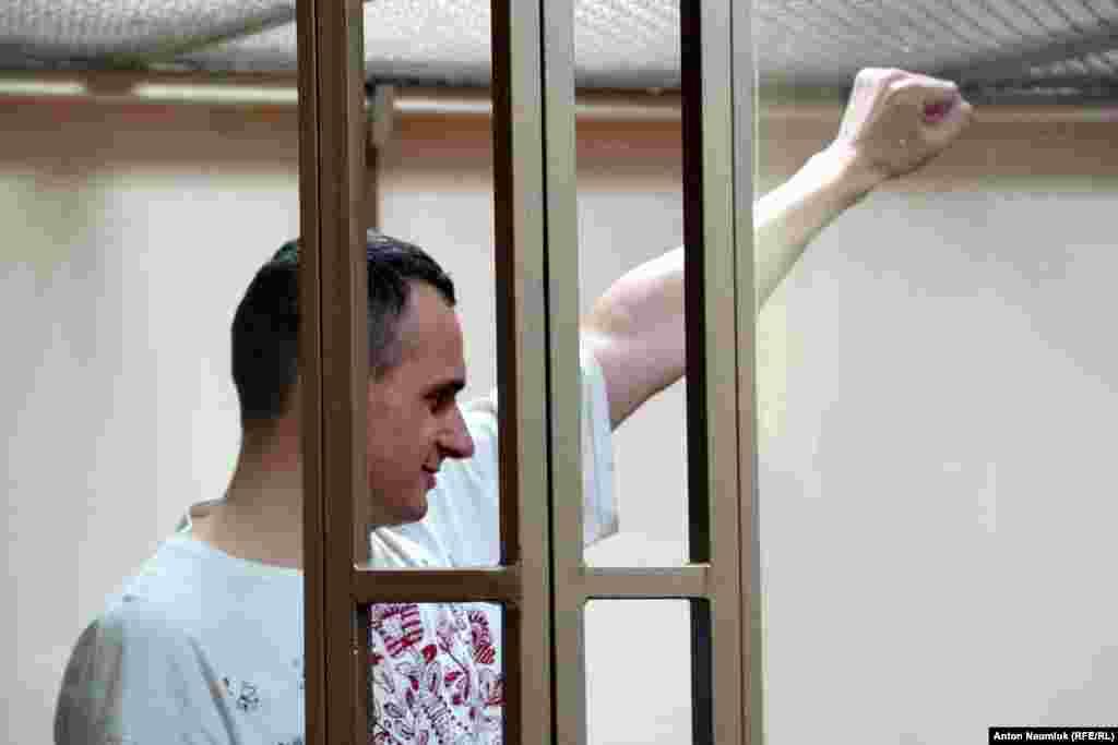 «Суд окупантів не може бути справедливим за визначенням», – сказав Сенцов у своєму останньому слові перед оголошенням вироку