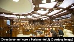 În plenul Parlamentului de la Chișinău