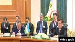 Mirziyoev turkman prezidenti bilan uchrashuvda kuyovi bilan birga