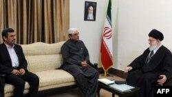 Foto nga takimi Khamenei Zardari