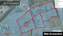 Арештована земельна ділянка під Києвом