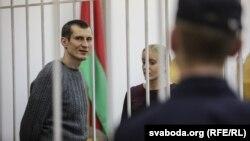 Юры Паўлавец падчас суду