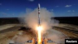 Запуск ракети-носія з нового російського космодрому «Східний», квітень 2016 року