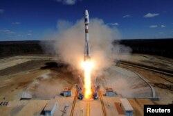 """Пуск ракеты-носителя Союз 2.1A с космодрома """"Восточный"""""""