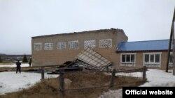 Cрыв кровли в д. Насибаш Салаватского района