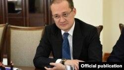 Komil Allamjonov, the head of Uzbekistan's Information and Mass Communication Agency