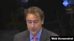 David Harland svjedoči na suđenju Ratku Mladiću