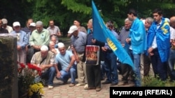 Crimean Tatars gathered in Simferopol on May 18 to commemorate the victims of the deportation.