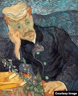 """Van Gogh, Portretul Dr. Gachet (1890), confiscat în 1937 ca """"artă degenerată"""", astăzi într-o colecție particulară"""