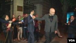 Kryeministri Edi Rama me kreun e opozitës Lulzim Basha