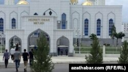 """Мечеть """"Хезрет Омар в Ашхабаде (иллюстративное фото)"""