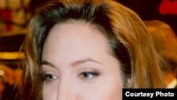 Голливуд жұлдызы Анжелина Жоли.