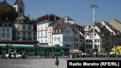 Pamje nga qyteti Bazel në Zvicër