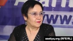 Асия Ахтанова, директор Ассоциации родителей детей-инвалидов (АРДИ). Алматы, 15 мая 2015 года.