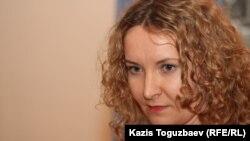 """""""Голос Республики"""" газетінің бас редакторы Татьяна Трубачева."""