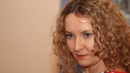 "Tatyana Trubacheva, editor in chief of the opposition newspaper ""Golos respubliki"""