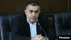 ՀՅԴ խորհրդարանական խմբակցության ղեկավար Արմեն Ռուստամյանը, արխիվ: