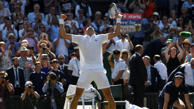 Serbia's Novak Djokovic Wins Fourth Wimbledon Title
