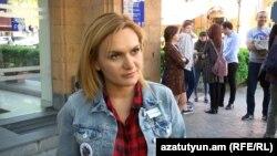 Անուշ Լալայանը զրուցում է «Ազատության» հետ, Երևան, 7-ը ապրիլի, 2018թ․