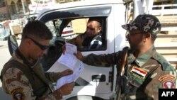 عناصر من قوات الصحوة في بغداد