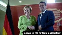 Премиерот Зоран Заев и германската канцеларка Ангела Меркел во Скопје, архивска фотографија