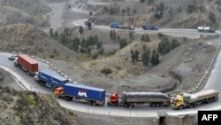 The Khyber Pass links northwestern Pakistan to eastern Afghanistan and is considered a vital trade and transport artery between the two countries.