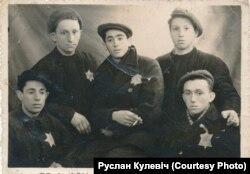 Вязьні горадзенскага гета, фота перададзена Русланам Кулевічам