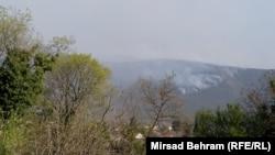 Požar blizu Mostara, 10. april 2020