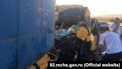 """Авария на трассе """"Таврида"""" 31 июля 2020 года. Погибли 9, ранены 18 человек"""