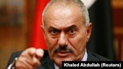Али Абдулла Салех, 2011-жылдын 25-майында тартылган сүрөт