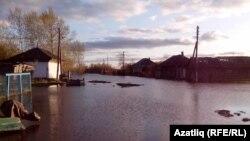 Омски өлкәсендәге татар авыллары былтыргыдан да зуррак су эчендә