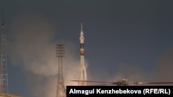 A Russian Soyuz rocket lifts off from the Baikonur Cosmodrome. (file photo)