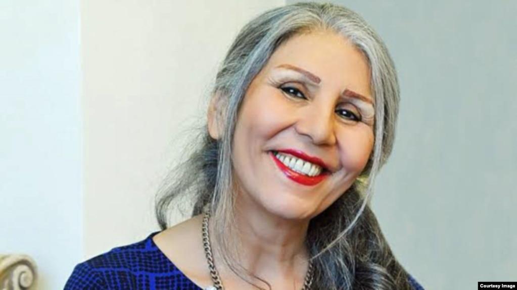Iraian poet Mahvash Sabet (file photo)