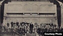 George Enescu și Orchestra Radio în anii '30