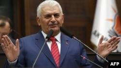 Türkiyənin baş naziri Binali Yıldırım