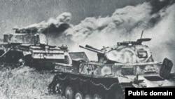 Курская битва (5 июля 1943 — 23 августа 1943) по своему размаху, привлекаемым силам и средствам, напряжённости, результатам и военно-политическим последствиям, является одним из ключевых сражений Великой Отечественной войны