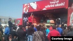 Uzbekistan - Cola-cola in sale in tashkent, WhatsApp
