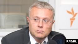 Александр Лебедев в студии Радио Свобода