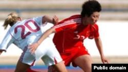 Çinin qadın futbolçuları