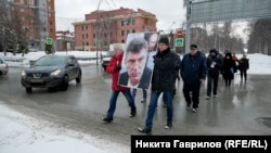Шествие в Новосибирске