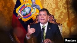 Президент Еквадору Рафаель Корреа