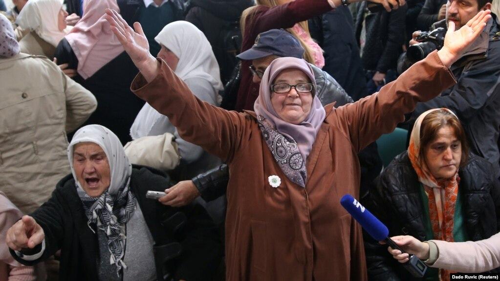 Reakcije u Srebrenici nakon izricanja presude Ratku Mladići