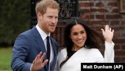 Принц Гаррі з нареченою Меган Маркл
