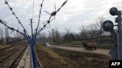 La granița moldo-română de la Ungheni