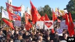 Митинг за сохранение за сохранение исторического облика Петербурга
