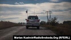 Авто спостерігачів місії ОБСЄ на Донбасі, ілюстративне фото