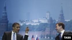 Претседателите Обама и Медведев