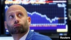 Нью-ёрская фондавая біржа, архіўнае фота