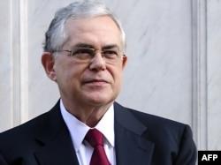 Прем'єр нового уряду Греції Лукас Пападімос, 10 листопада 2011 року